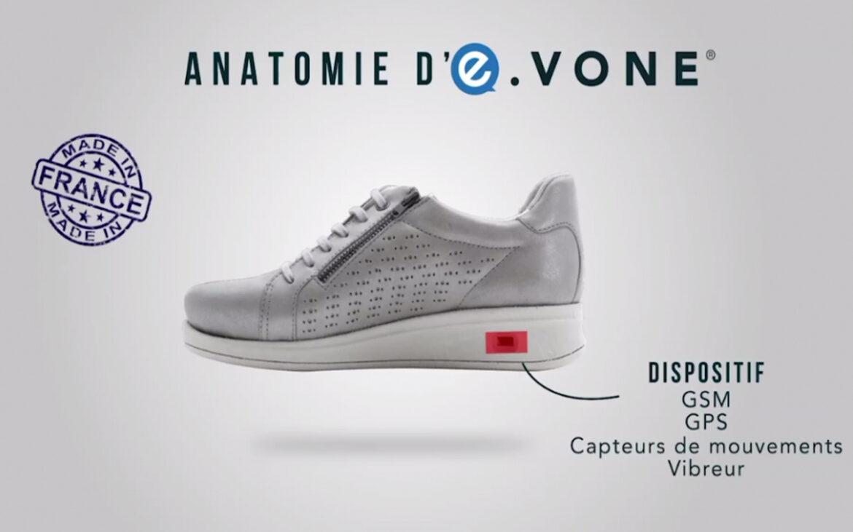 E-vone Smart Shoe รองเท้าอัจฉริยะ ช่วยชีวิตผู้สวมใส่