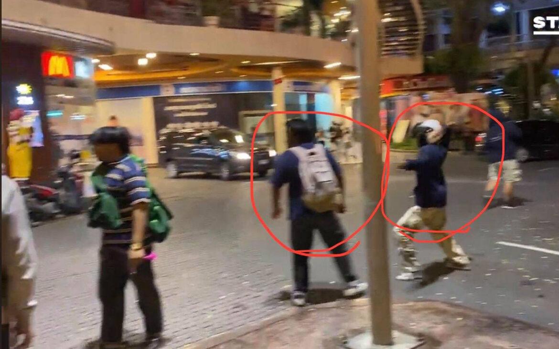 สรุปเหตุการณ์ผู้แฝงตัวยิง-ปาระเบิดในที่ชุมนุม คืนวันที่ 25 พฤศจิกายน 2563